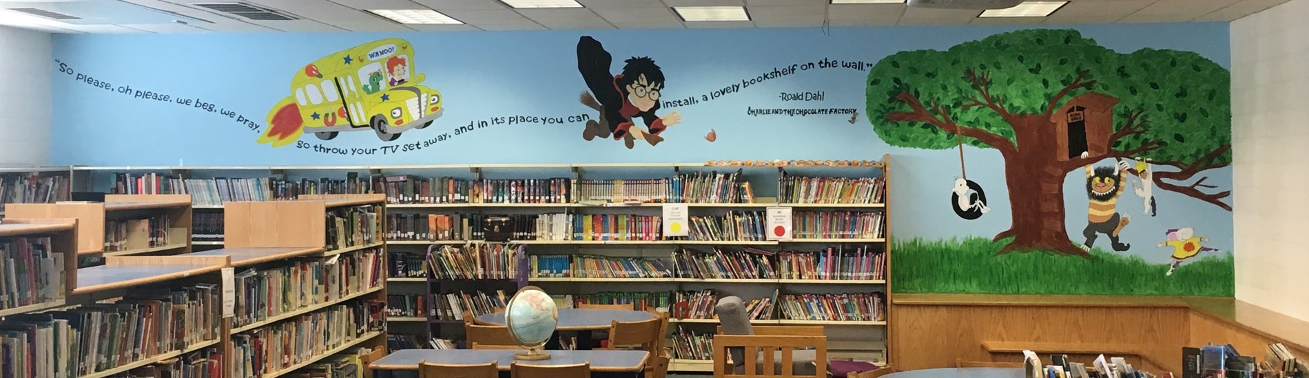 library mural 2