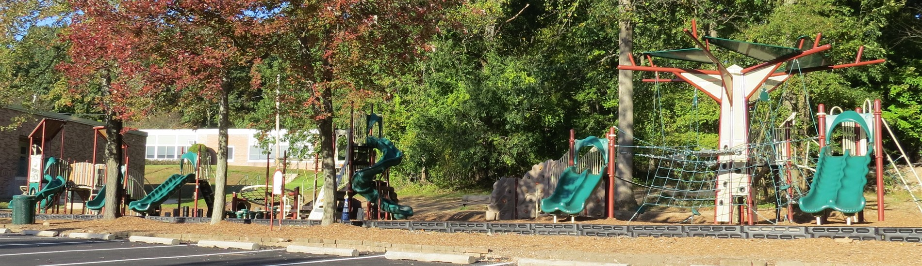 New Dorchester playground- lower level- view 1